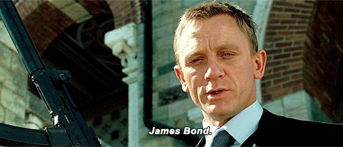 He\ll have his birthday drink shaken, not stirred. Happy birthday, Daniel Craig.