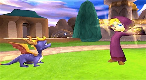 Wonder what was happening here... Anyone know? #Spyro #screenshotsaturday