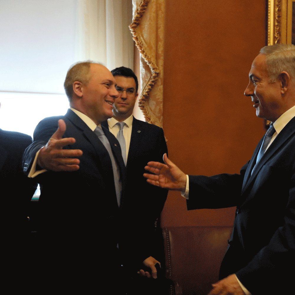 America and Israel share a close bond. It was great to see PM @Netanyahu today at the Capitol.