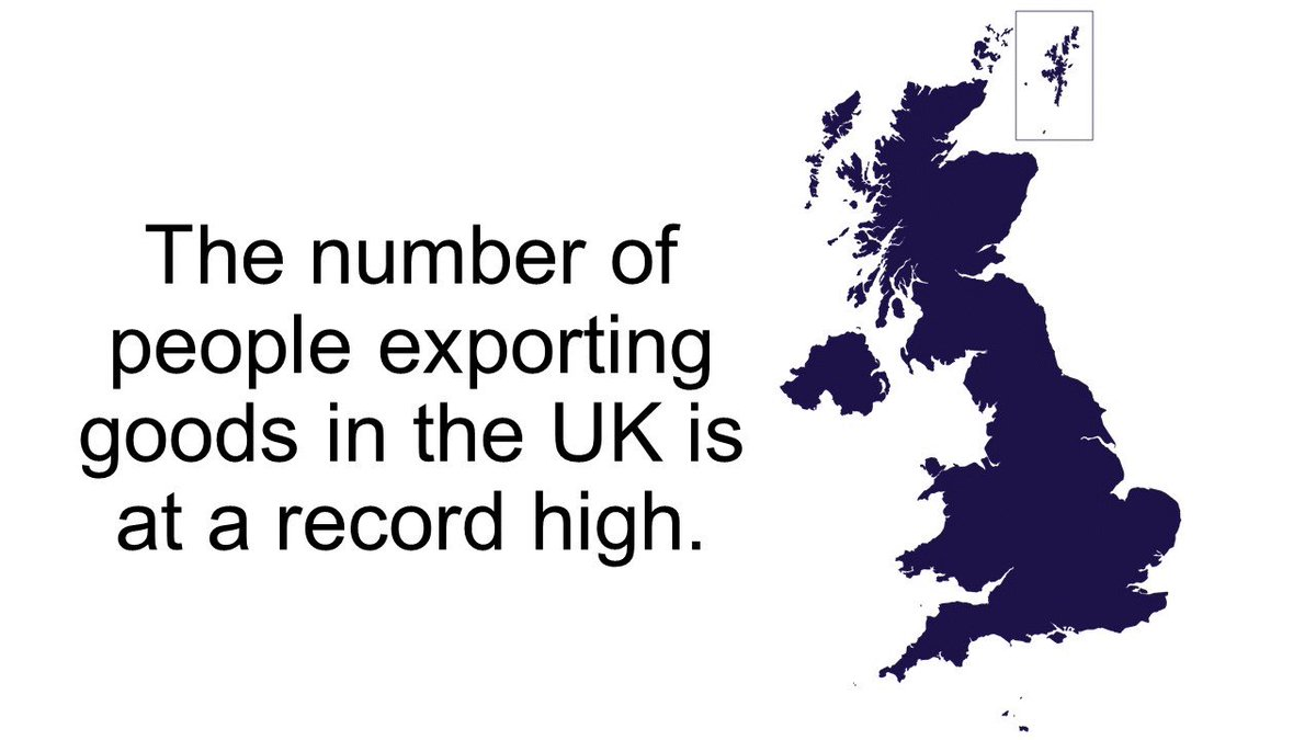 """international trade significant to uk business The """"space exports"""" campaign will spearhead trade missions to the us and india and build on a booming uk market which is building 40% of the entire globe's small satellites indeed, the government said the sector is growing 15 times faster than the rest of the uk economy with exports growing to £5 billion in 2014/15."""