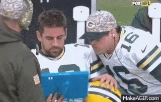12up's photo on Aaron Rodgers