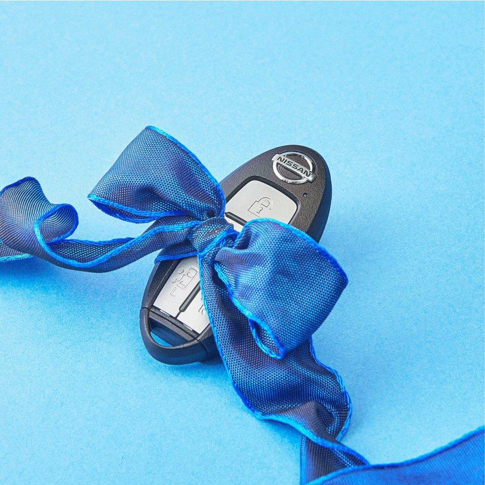 【 #ホワイトデー 】 にっちゃんからの小さな贈り物。 リボンをひらいた先に待っているお返しはなんでしょう? #にっちゃん情報局