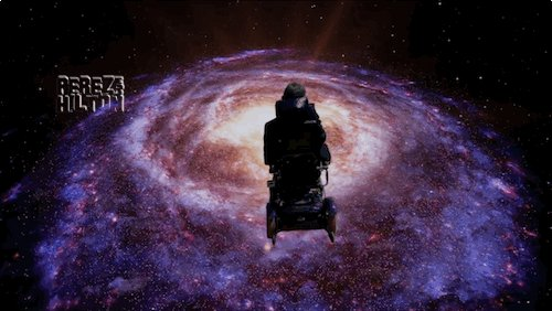 Until forever Dr. Hawking. Good trip, Ma...