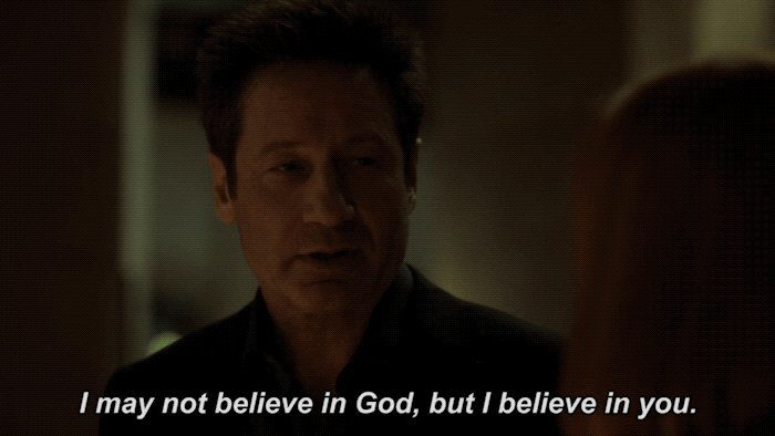 That Mulder... what a blessing. 🙏 #TheXF...