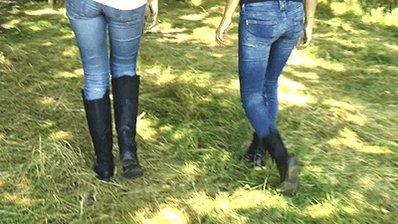 Slave #trampling with muddy boots #bootd...
