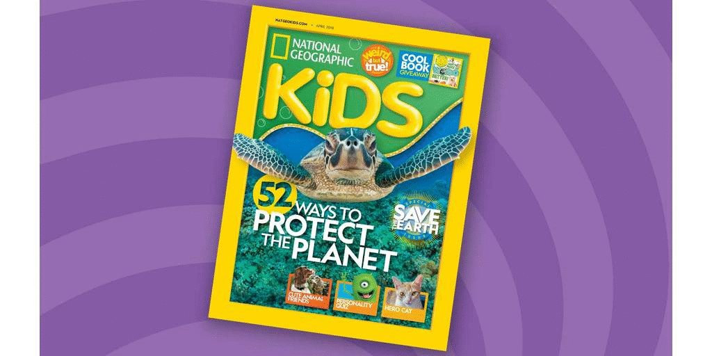 Help us save the Earth! Get ideas for how your family can protect the planet in the April issue of Nat Geo Kids magazine, on newsstands now. Then tweet us which of the fun 52 tips youre planning to try. on.natgeo.com/2DrNtgp   #KidsSaveTheEarth
