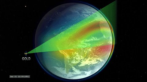 Instead of the end of a rainbow, our GOLD is on its way to geostationary orbit! 🌈 This mission will study Earths dynamic upper atmosphere — our planets interface to space. Find out more: go.nasa.gov/2E7TFyG