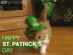 Happy #StPatricksDay!  May the Luck O' t...