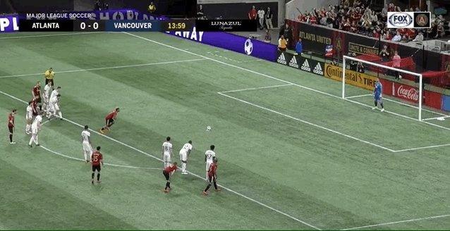 Josef Martinez converts the penalty. 1-0...