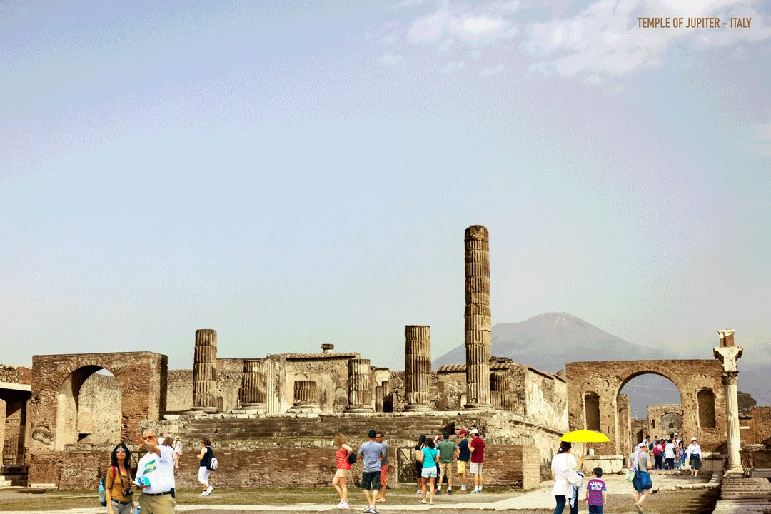 Templo de Júpiter  #Pompeya