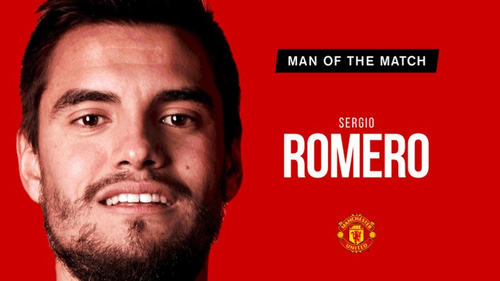 A string of fine saves and another #FACup clean sheet - retweet if Romero is your choice. #MUFC
