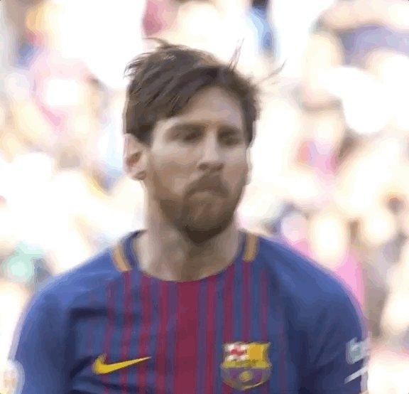 👑 Leo #Messi 🕺 ...quando você soma seis jogos seguidos marcando... #ForçaBarça 🔵🔴