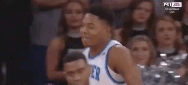 Tyrique Jones!  Bringing the noise for @...