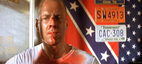 Pulp Fiction (1994) dir. Quentin Tarantino  Happy birthday to Bruce Willis