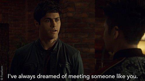 Dreams come true. #Malec #Shadowhunters...