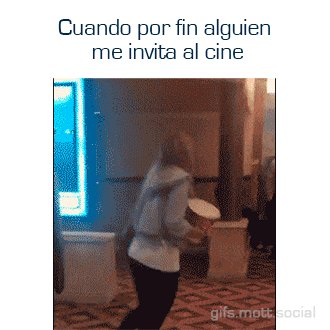 #YoSoyFelizCon1 Invitación Al Cine 🎥📽️🎞️...