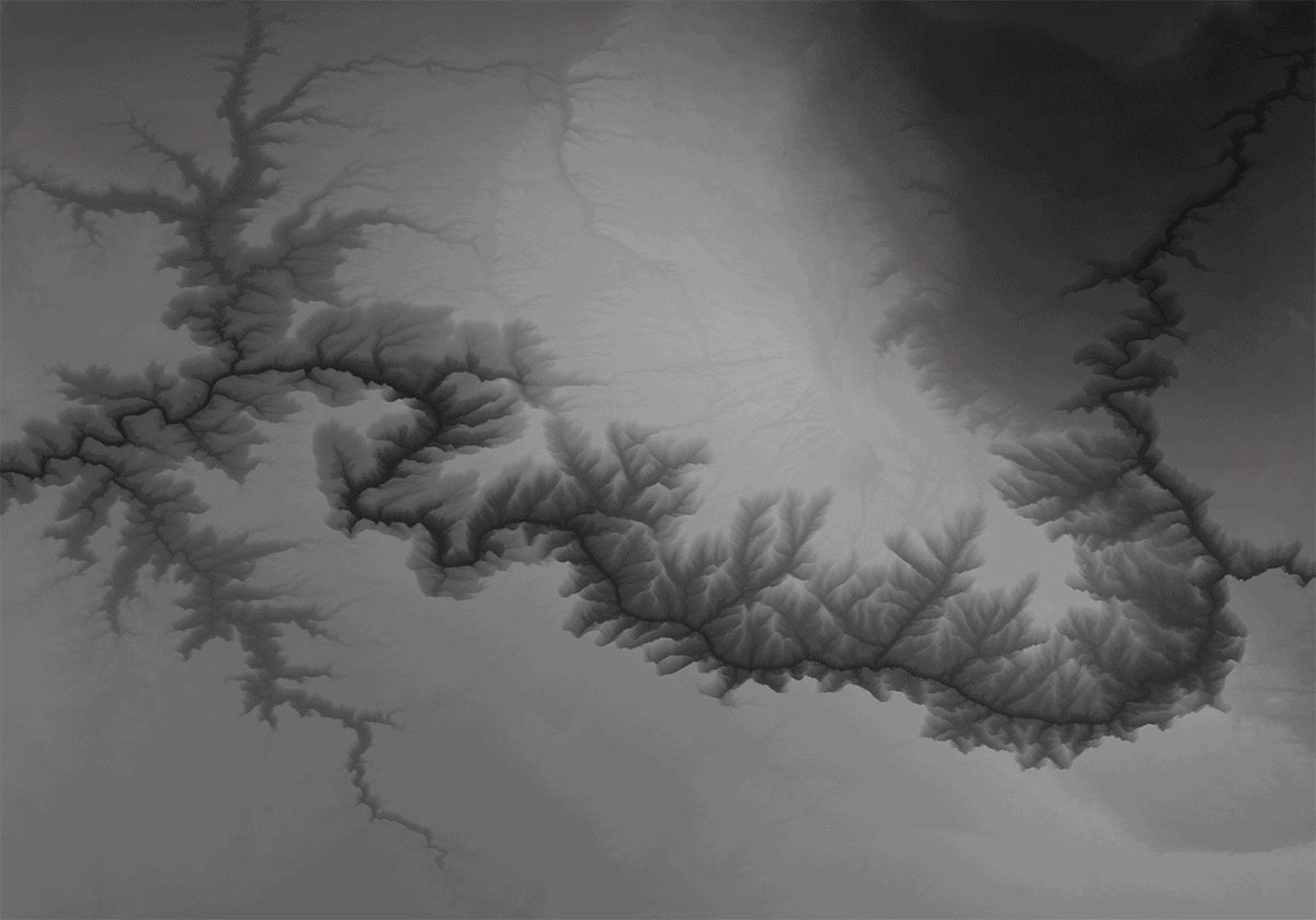 Image for the Tweet beginning: Mapping the Grand Canyon in