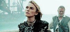 Happy Birthday to Keira Knightley a. k. a. Pirate King Elizabeth Swann!