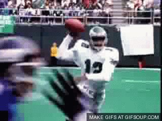 Happy birthday the Ultimate Weapon Randall Cunningham!  He was human highlight reel!