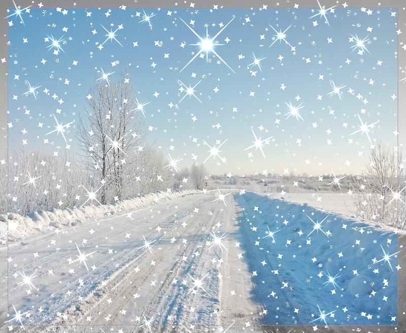 Снег идет картинки анимации