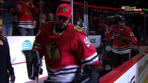 Scott Foster Accountant Turned Blackhawks Goalie