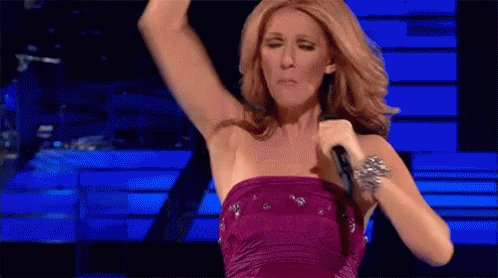 Happy Birthday to the Queen who invented music Celine Dion