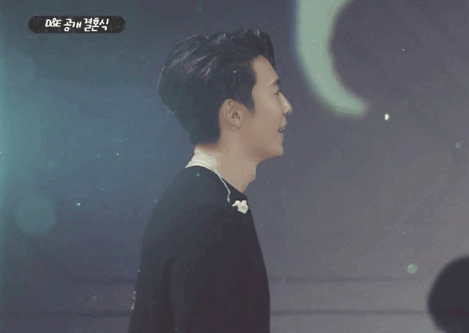 #SuperJuniorDnE #donghae #Eunhyuk #은혁 #동해 I would not forget the smile of donghae when he saw hyuk wore the wedding veil 😍😍😍😊😊💙💙💙💙sweet two 🐯🐒💕