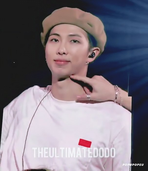 🌰💪 181002 #RM #남준 #BTS bit.ly/2Ma9gBB cr. theultimatedodo