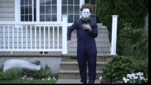 ready to see Michael strut out of that fire like #HalloweenKills #HalloweenEnds