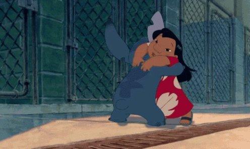Nina López Ar Twitter 11 Promueve La Adopción Lilo Adopta A Stitch De Una Perrera Pensando Que Era Un Cocker Atropellado