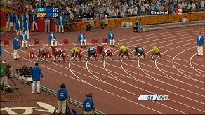Image for the Tweet beginning: @TheDailyShow @ronnychieng Usain Bolt winning