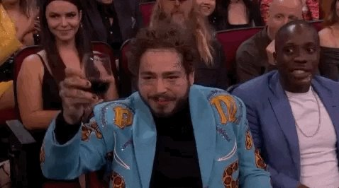 Exactly 2 months until @PostMalone got us sayin' WOW 🙌