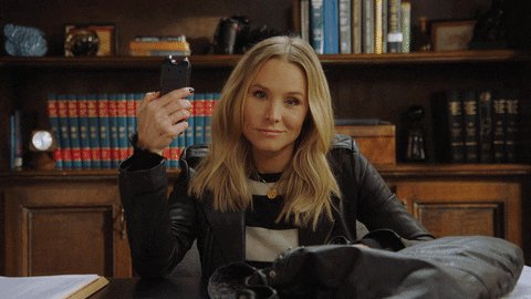 Happy Friday indeed, Marshmallows! The new season of @VeronicaMars is out now! #SDCC apple.co/2O658EY