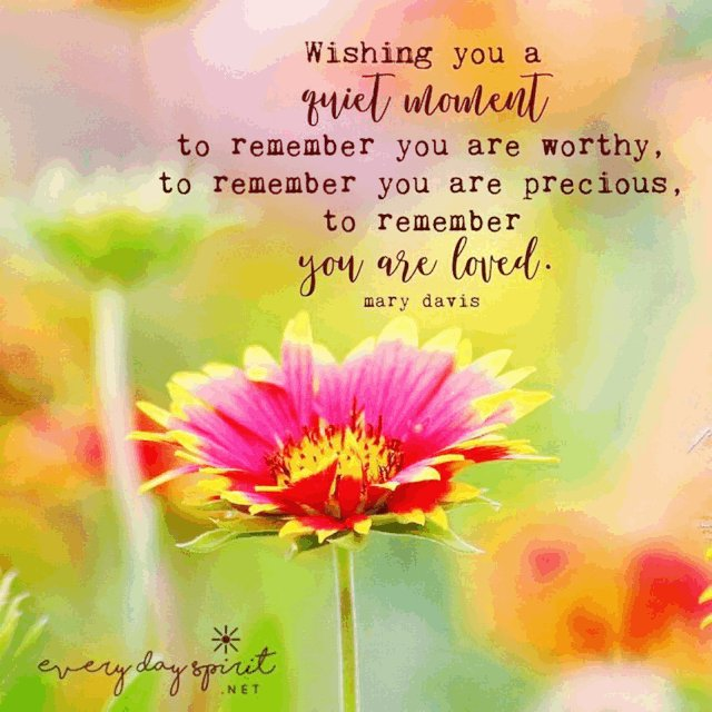 To whoever reads this, I pray for you... A heart free of sadness, A mind free of worries, A life free of illness and, A day full of God's blessings. May God bless you with the riches of His grace and love. 💕🙏💖 Never forget just how loved you truly are. 💖💕#YouMatter
