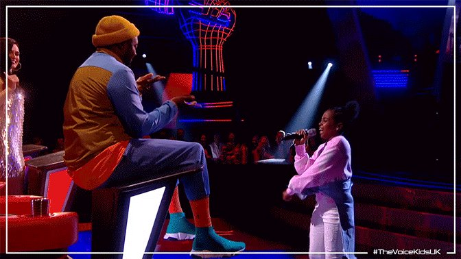 So. Much. Swag. #TheVoiceKidsUK