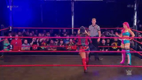 IT'S @tonistorm_ TIME! She takes on @CFlossWrestler RIGHT NOW on #NXTUK!