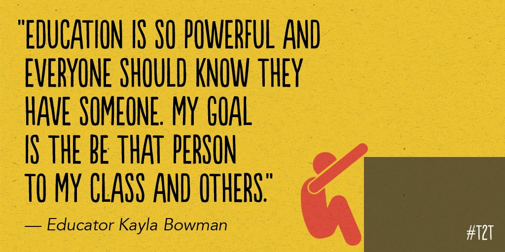 ✨ What's your number-one teaching goal? (Inspiration via T @Kmbowman_) #WhyITeach #edchat #LoveTeaching