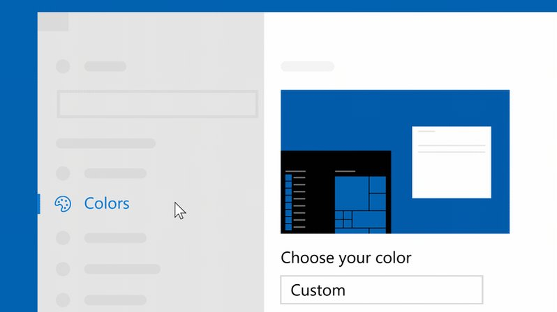 Give apps a sleek new look 👀Select Start > Settings > Personalization > Colorshttp://msft.social/klgXsY
