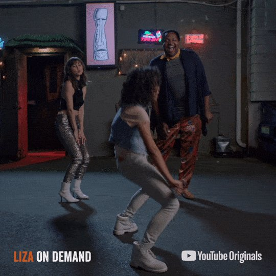 Who else is excited that the #LizaOnDemand trifecta is back at #VidConUS this year? If you're in Anaheim, now's your chance to see them!