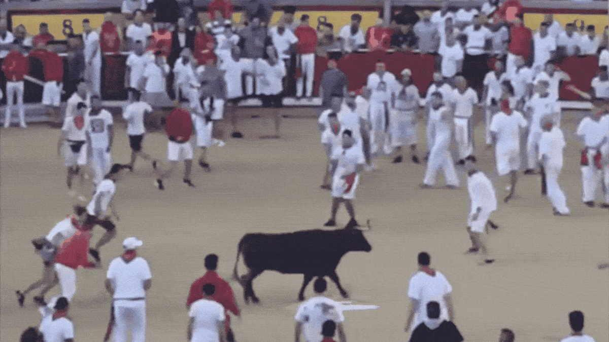 Here's Josh Norman leaping over a bull in Pamplona: http://deadsp.in/QltkF49