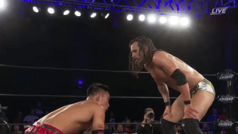 .@AdamColePro: Im going to be #NXTChampion forever. You suck! #EVOLVE131 @TozawaAkira: