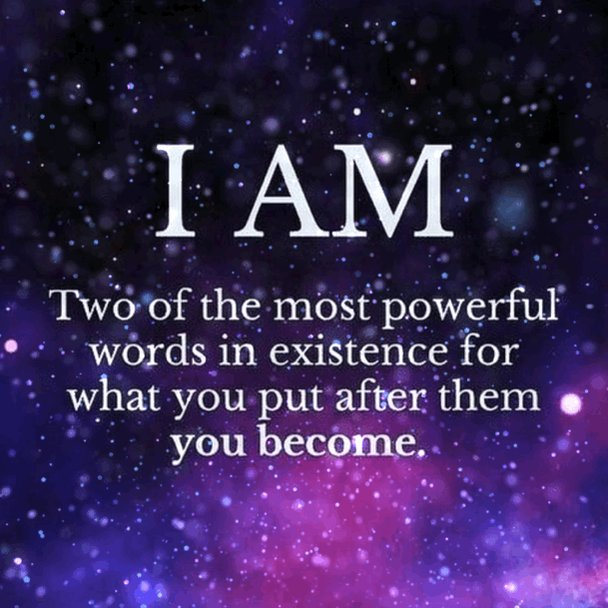 I AM... is the most powerful statement you can utter. Every word following ✨I AM✨ has a magical ability to affect you profoundly on a quantum level of reality. Be careful what you speak into existence. Honour yourself. Always. 💖💕 - via @MyPowertalk