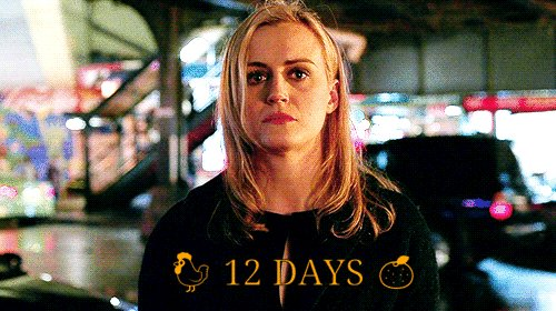12 days until @OITNB final season #OrangeForever 🧡