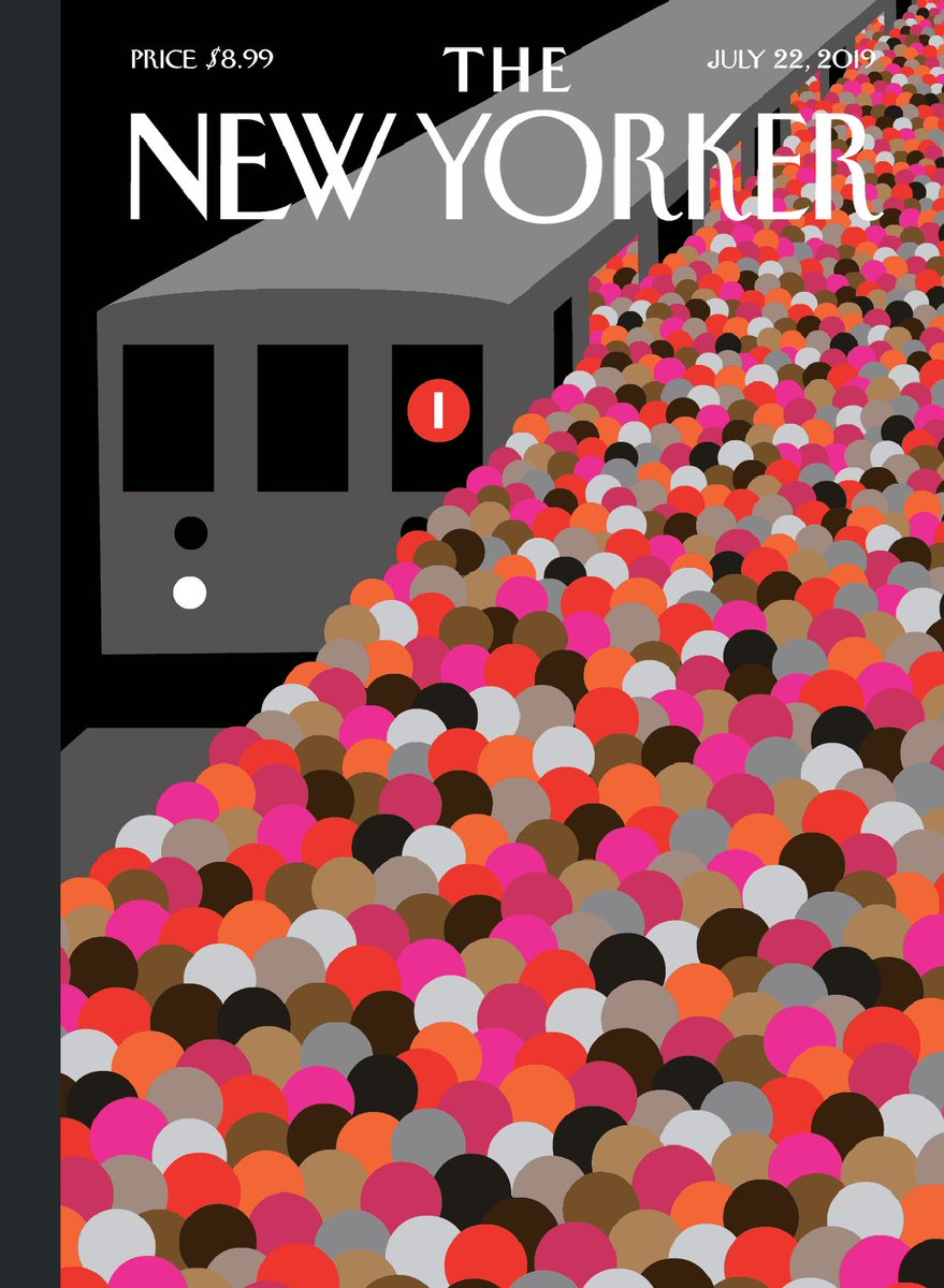 """Image for the Tweet beginning: This week's cover, """"The Commute,"""""""
