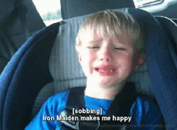 Don't worry kid, we know how you feel! @IronMaiden is goin' down on September 9 😎  Grab your tickets and get ready to rock 🎶 🎟: http://spr.ly/6012EanP4