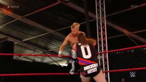 .@MandrewsJunior, DOWN. #NXTUK