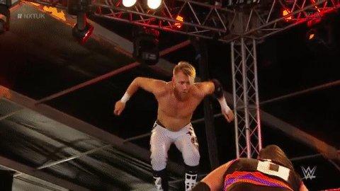 .@MandrewsJunioris definitely showcasing his athleticism in this match. #NXTUK
