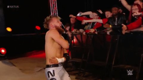 After a hard-fought battle, @MandrewsJuniorwas able to pull a win over @KassiusOhno! #NXTUK
