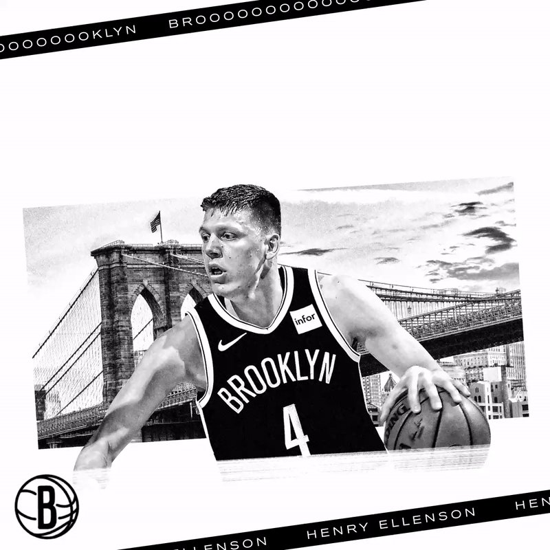 OFFICIAL: We have signed free agent forward Henry Ellenson to a two-way contract!  Hello, @HenryEllenson13 ⚫️⚪️