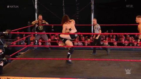 Teamwork: 100%#NXTUK @Marcel_B_WWE@FabianAichner